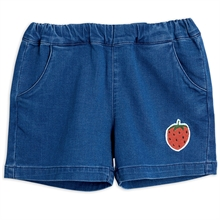 mini-rodini-shorts-denim-blue-blaa-strawberry-jordbaer