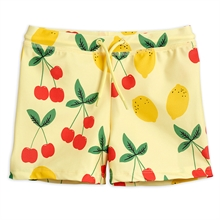 mini-rodini-cherry-lemonade-swim-pants-badebukser-yellow-boy-dreng-girl-pige-unisex