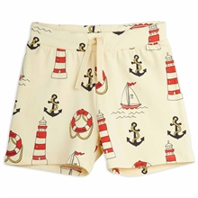 mini-rodini-shorts-lighthouse-fyrtaarn-yellow-gul-print