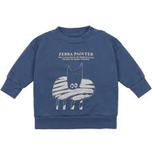 Bobo-Choses-sweatshirt-sweat-zebra-painter-blue-blaa