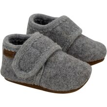 enfant-slippers-futter-grey-melange-girl-pige-boy-dreng-unisex