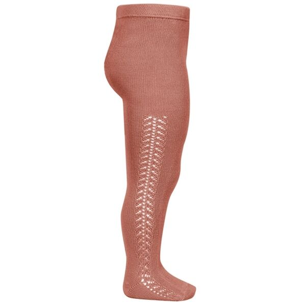 condor-tights-stroempebukser-terracota-rosa-pattern-moenster