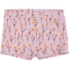 Soft-Gallery-badebukser-Pemla-Swim-Trunks-Dawn-Pink-Aop-Buttercup-flowers-blomster