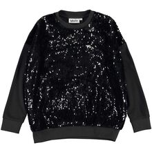 molo-sweatshirt-black-sort-palietter-sequins