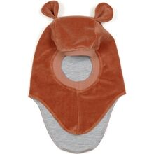 3001T-Huttelihut-plys-elefanthue-with-ears-Terracotta-red-roed-balaclava-2