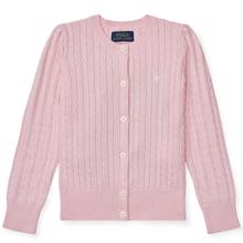 Polo Ralph Lauren Girl Cardigan Mini Cable Pink
