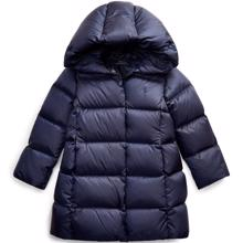 Polo Ralph Lauren Girl Jacket Long Down French Navy
