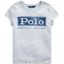 Polo Ralph Lauren Girl Short Sleeved T-shirt Graphic Grey