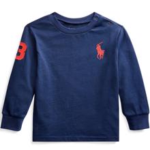 Ralph Lauren Baby Boy Long Sleeved Tee French Navy