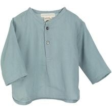 serendipity-dusty-blue-gauze-shirt-skjorte