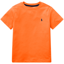 Polo Ralph Lauren Boy Short Sleeved Tee Orange/Navy