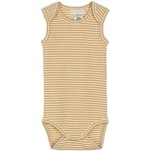Serendipity Honey Offwhite Rib Stripe Tank Body