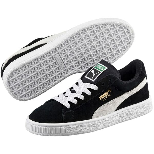 e212dd9bfc78 Puma Sneakers Suede Jr Black   White