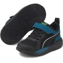 Puma-sneakers-sko-x-ray-glow-black-sort-digi-blue-green-sort-blaa-groen
