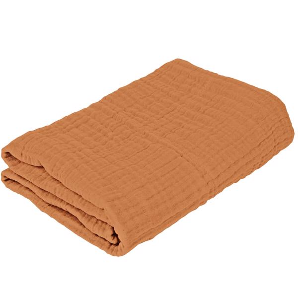 sebra-babytaeppe-baby-blanket-sweet-tea-brown-braendt-orange