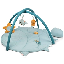 Done by Deer Activity Play Mat Sea Friends Blue