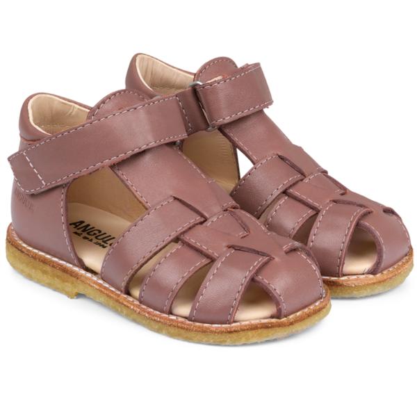 55be0b13595 Angulus Sandal M. Velcro Blomme 5019-101-1524
