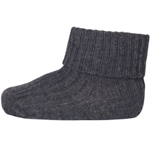 mp-denmark-stromper-sokker-socks-grey-dark-graa