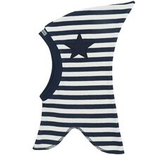 Racing Kids Elefanthue Top Stjerne 1-lags Navy/White