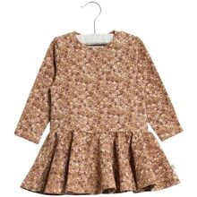 wheat-dress-kjole-kristine-jersey-flowers-caramel-girl-pige