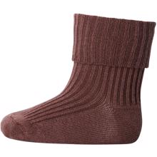 589-76-mp-denmark-ankle-socks-wool-rib-turn-brun-brown-girl-pige-unisex-boy-dreng
