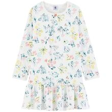 petit-bateau-natkjole-nightgown-white-hvid-flowers-blomster
