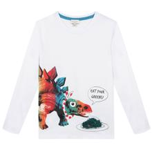 Paul Smith White Dino Boy Bluse