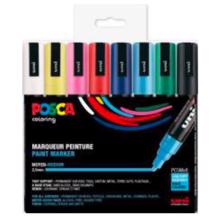 5m-pc-posa-tusser-8-farver-paint-marker