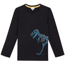 paul-smith-bluse-blouse-black-sort-dino