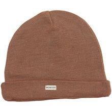 Racing-kids-tophue-beanie-light-hassselnoed-beige