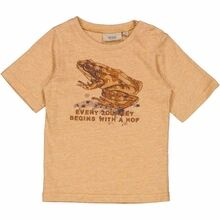 wheat-t-shirt-hop-warm-melange-brown-brun