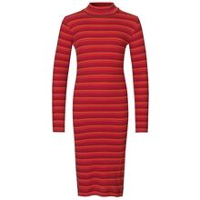 mads-noergaard-kjole-dress-striber-stripes-red-roed-blue-blaa-glimmer-glitter