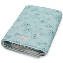 camcam-blanket-taeppe-baby-peacock-grey-graa