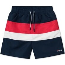 Fila Bela Black Iris/True Red/Bright White Badeshorts
