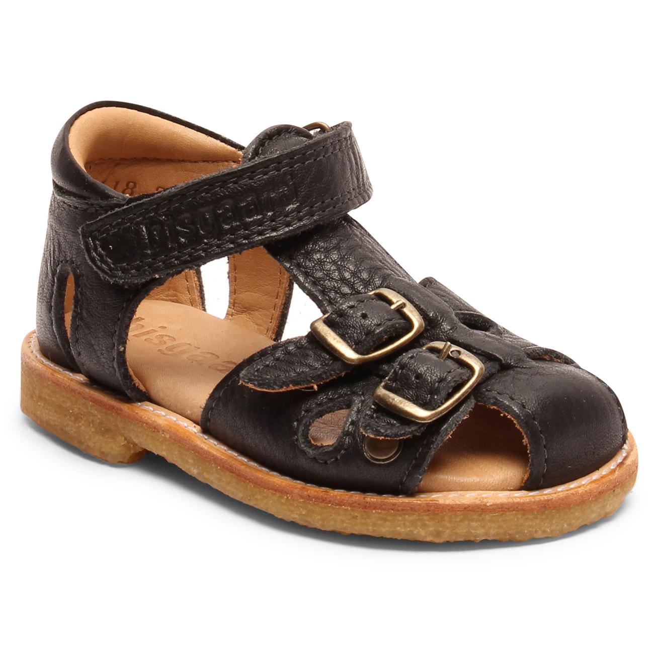 4e2d168559f2 Bisgaard-sandal-velcro-spaender-buckles-sort-black ...