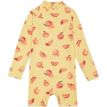 Soft-Gallery-Fitz-Sunsuit-Jojoba-Aop-Oranges-yellow-gul