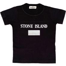 Stone Island Junior T-shirt Print Grey/Black