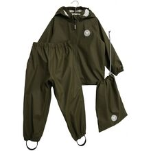 Wheat-rainwear-rengtoej-charlie-army-leaf-green-groen