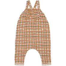 Soft-Gallery-Fanette-Dungarees-Winter-Wheat-Aop-Check-selebukser-striber-stripes