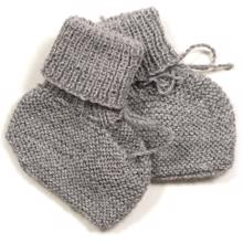 Huttelihut Baby Futter Light Grey