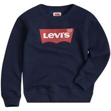 Levi's Sweatshirt Batwing Crewneck Dress Blue
