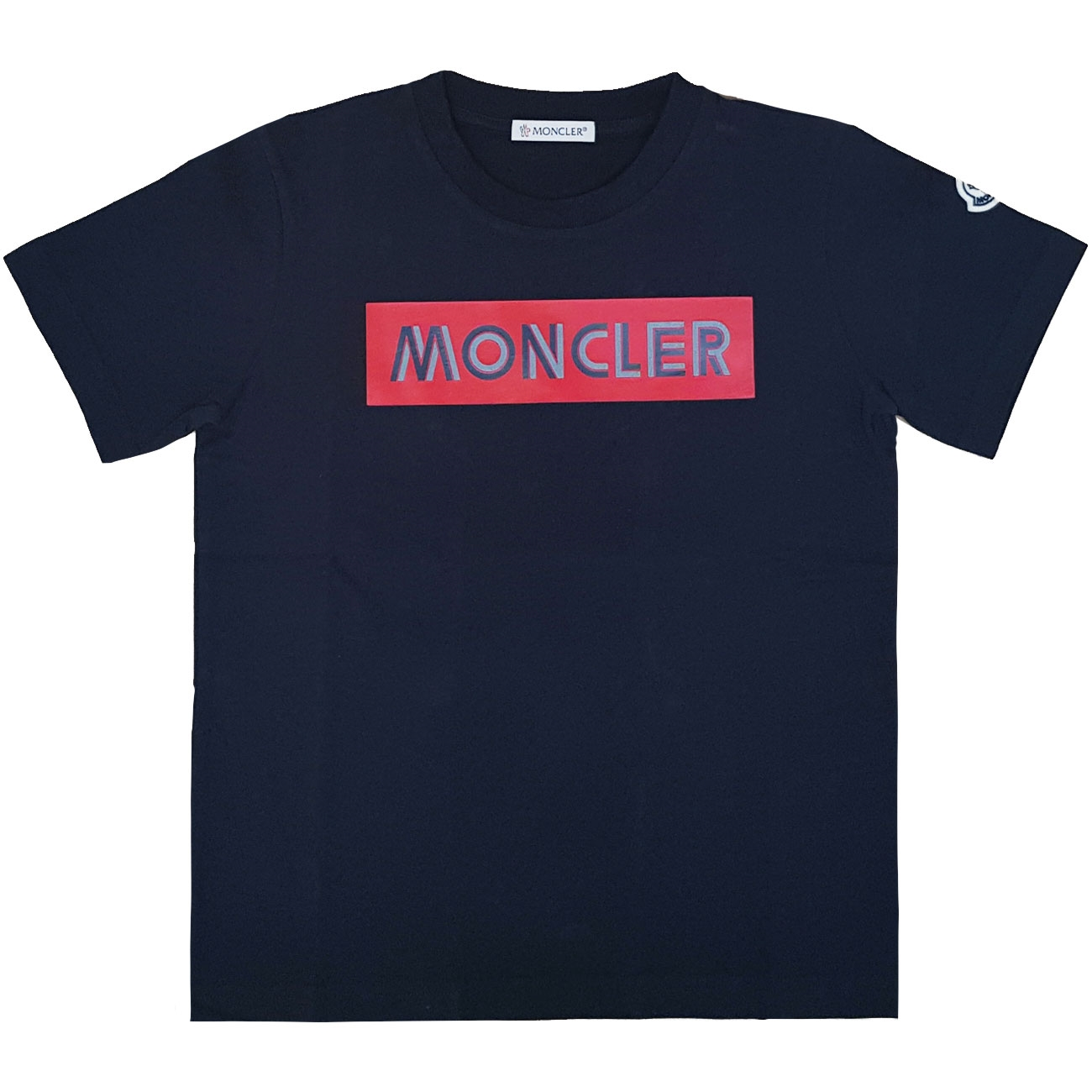 Moncler-maglia-t-shirt-tee-blue-navy-red-roed