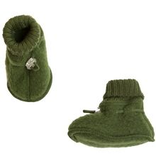 joha-booties-futter-bottle-green-opkradset-wool-uld