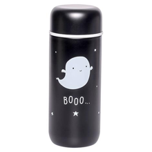 A-little-lovely-company-drikkeflaske-drink-bottle-steel-black-sort-ghost-spoegelse