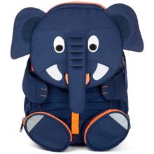 Affenzahn-boernehavetaske-kindergarten-backpack-large-Elias-Elephant-blue-blaa