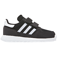 adidas-sneakers-sko-black-sort-hvid-white-velcro