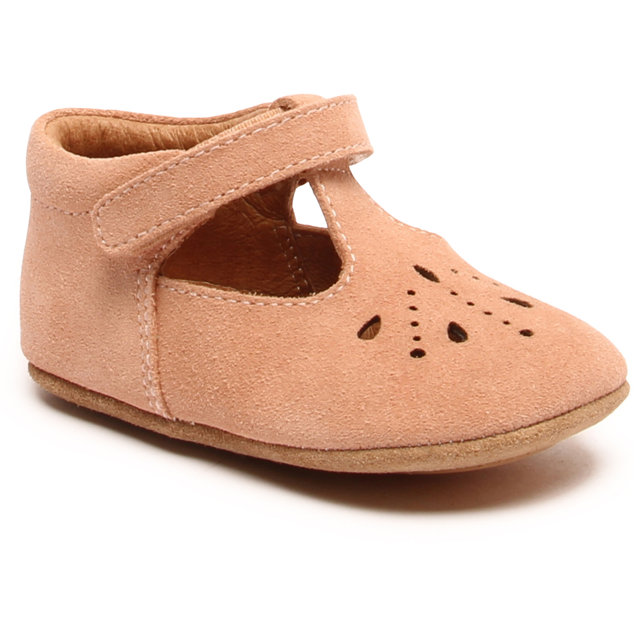 Bisgaard-nude-futter-home-shoes-velcro-peach