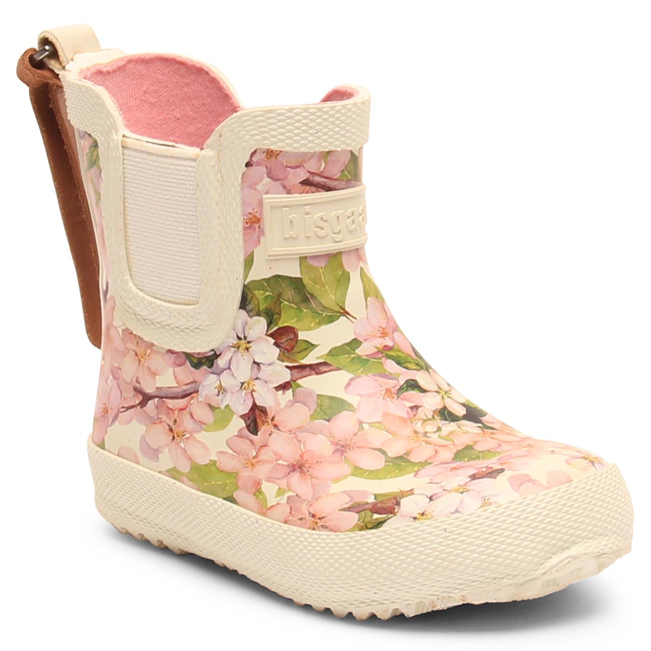 409d763bdd8 Bisgaard Gummistøvler Baby Creme Flowers