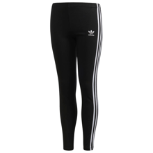 Adidas-J-3STR-Leggings-Black-sort-hvid-white