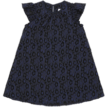 Christina Rohde 101 Kjole Navy Blue